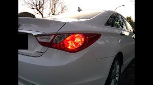 2012 Hyundai Sonata Rear Brake Light Hyundai Sonata 2011 2014 Tail Light Installation