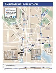 Baltimore 10 Miler Elevation Chart 2015 Runner Handbook