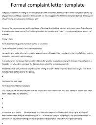 Complaint Format 100 Complaint Letter Templates Samples in Word PDF Format 30