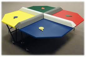 view larger image poly pong ping pong table