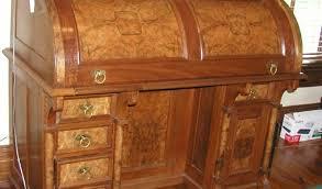riverside roll top desk oak solid by