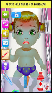 Baby Little Throat & Ear Doctor - play babies skin doctor's office ...