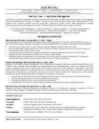 Network Technician Sample Resume 8 Tech Techtrontechnologies Com