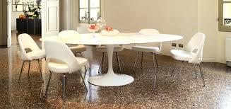 saarinen table oval image of saarinen oval dining table marble saarinen table oval black