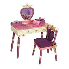 Levels of Discovery Princess Vanity Table and Chair Set