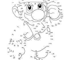Free Printable Dot To Dot Gyerekpalotainfo