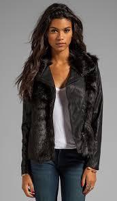 gy faux fur jacket blanknyc