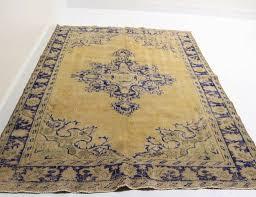 za 138 vintage turkish rug 5 9 x 7
