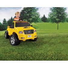 Power Wheels Ford Lil' F-150 Pickup Truck - Yellow