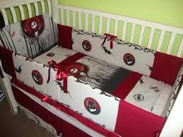 nightmare before crib bedding sets nursery ideas nice