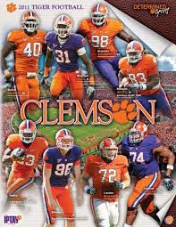 Auburn Football Depth Chart 2011 2011 Clemson Football Media Guide By Clemson Tigers Issuu