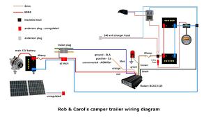 12v trailer wiring diagram and camper 12 volt travel electrical in Boat Wiring Diagram 12V at 12v Trailer Wiring Diagram