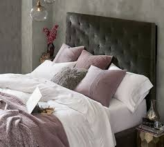 Lorraine Tufted Tall Bed & Headboard