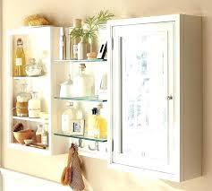 white curio cabinet glass doors with unique bathroom wall storage cabinets for furniture decoration various