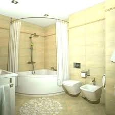 bathtub shower combo corner tub likeable and of inch 54 x 30