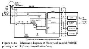 cadmium cell primary controls heater service troubleshooting honeywell r8185e schematic cadmium cell primary controls