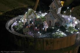 indoor fairy garden. How To Make A Fairy Garden For Indoor Or Outdoor My Frugal Lights S