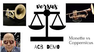Acb Trumpet Comparison Monette Vs Coppernicus Trumpets Fun