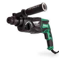 hitachi drill. hitachi dh26px sds+ rotary hammer drill 26mm 240v