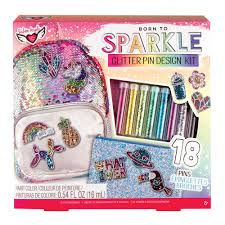 Fashion Angels Design Born To Sparkle Glitter Pin Design Kit