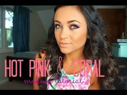 hot pink c makeup tutorial open me much diffe than my usual eye