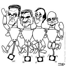 Politieke Prenten Gemeenteraad Verkiezingen 2018 Cartoon Trekpop