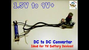dc to dc converter 1 5v up to 9v
