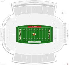 Kenan Stadium Seating Chart Seat Numbers Nc State Carter Finley Stadium Seating Chart