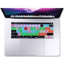 XSKN Logic Pro X Pintasan Penutup Keyboard untuk MacBook Pro 16 Inci A2141  Baru dengan Bilah SENTUH & ID Sentuh Versi AS|Keyboard Covers