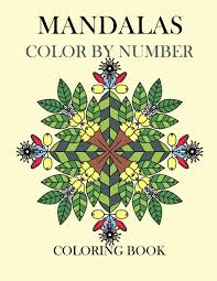 Creative Haven Floral Design Color By Number Coloring Book Coloring Book Color By Number Coloring Books For Adults At