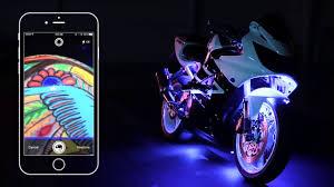 Addmotor Led Lights App Xkchrome Smartphone App Control Led Lighting System For Car Motorcycle Powersports Boat Home