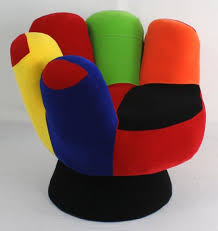 cool funky furniture. lumisource cool mitt chair for shorter tweens multi colored funky chairs teens and furniture e