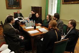 В Московской духовной академии состоялась предзащита кандидатских  В Московской духовной академии состоялась предзащита кандидатских диссертаций на кафедре богословия