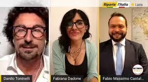 Fabiana Dadone - Fabio Castaldo - Decima tappa di #RipartelItalia 🇮🇹 -  Lazio! - YouTube