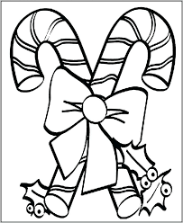 Christmas Coloring Pages For Adults Printable Bow To Print
