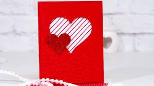 Carte De St Valentin Carte De St Valentin Toute Simple