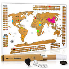 Large Us Map Poster Premium Scratch Off World Map Poster Large World Map With Defined United States Country Flags Buy Premium Scratch Off World Map Poster Large World