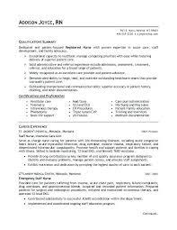 Registered Nurse Resume Template