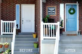 front door curb appealHow to paint your front door and add curb appeal  The Creative Mom