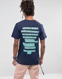 Темно-синяя футболка <b>Cayler &</b> Sons - Темно-синий от 1290 р ...