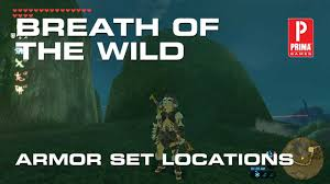 Zelda Breath Of The Wild Armor Sets Locations Stat