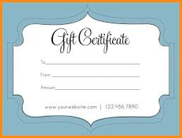 How To Make A Gift Certificate 4 5 How To Make Gift Certificates In Word