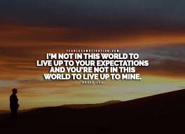 Quotes About Expectations