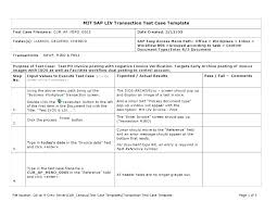 Quality Assurance Example Template Strategy Document Plan