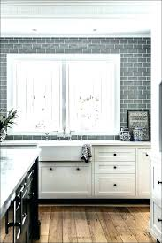 grey subway tile backsplash grout kitchen with gray tiles transitional design light grey glass subway tile