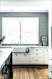 grey subway tile backsplash grout kitchen with gray tiles transitional design light grey glass subway tile
