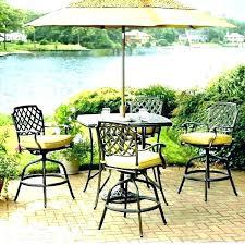 pub height patio table patio bar height patio table t outdoor furniture bar height patio table