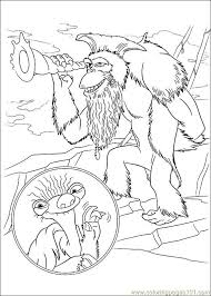Small Picture Ice Age Continental Drift 05 Coloring Page Free Ice Age Coloring