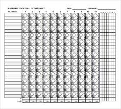 baseball scorekeeping sheet baseball score sheet do you coach baseball or softball use this