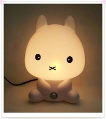 baby room night light rabbit cartoon kids sleeping bed lamp best for gifts best lamp baby room o91